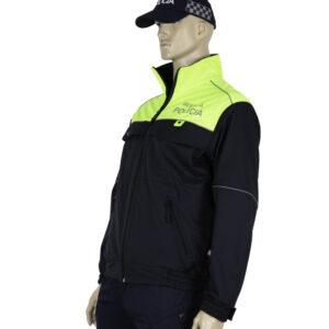 04.115 - Softshellová bunda vzor Letisko Poprad