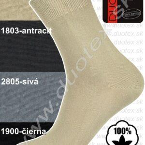 18.53 - ponožky hladké letné, 100% bavlna