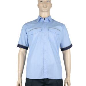 01.16 - Pánska košeľa KR s reflexným pásom